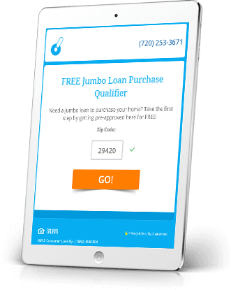 Jumbo Loan Mortgage Lead Generation Funnels Showcase
