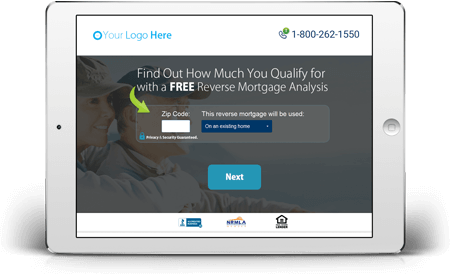 Reverse Mortgage Lead Generation Funnels Showcase