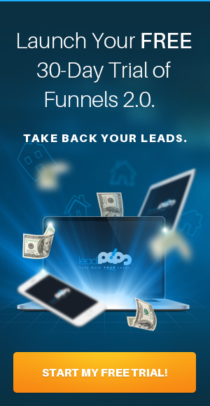 Funnels Free Trial Banner for leadPops Blog