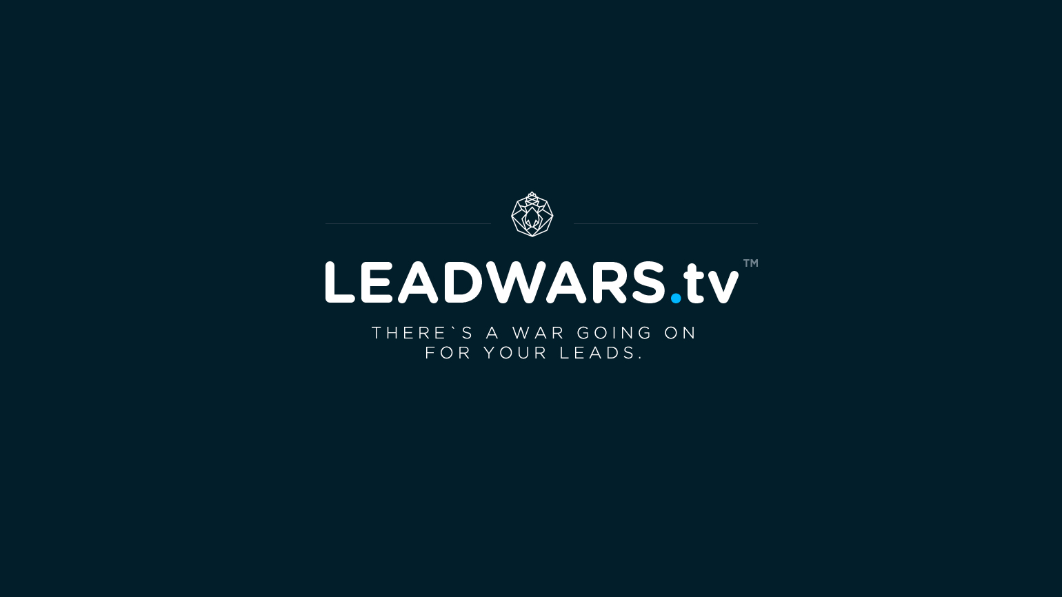 Ready to Win the Fight for Your Leads? Start Watching LeadWars.tv on YouTube